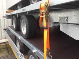 Spanband 5000kg enkele haak