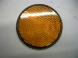 Reflector oranje rond 61mm