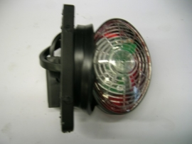 Breedtelamp LED rood/wit 70mm