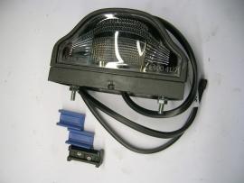 Kentekenlamp kunststof groot met 0,5mtr kabel