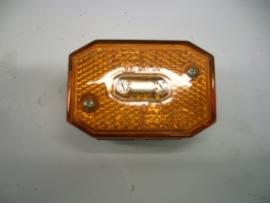 Breedtelamp oranje 64x44mm