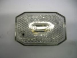 Breedtelamp wit 64x44mm