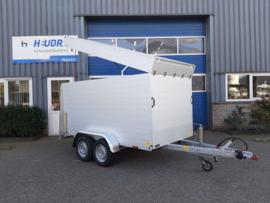 Anssems GTT 2500 VT3 bagagewagen | Geremd | 2500kg