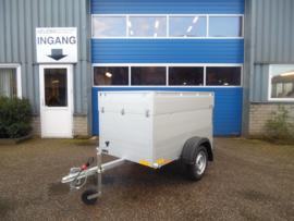 Anssems GT 500 VT1 bagagewagen | Ongeremd | 500kg |