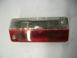 Markeringslamp achter rood/wit