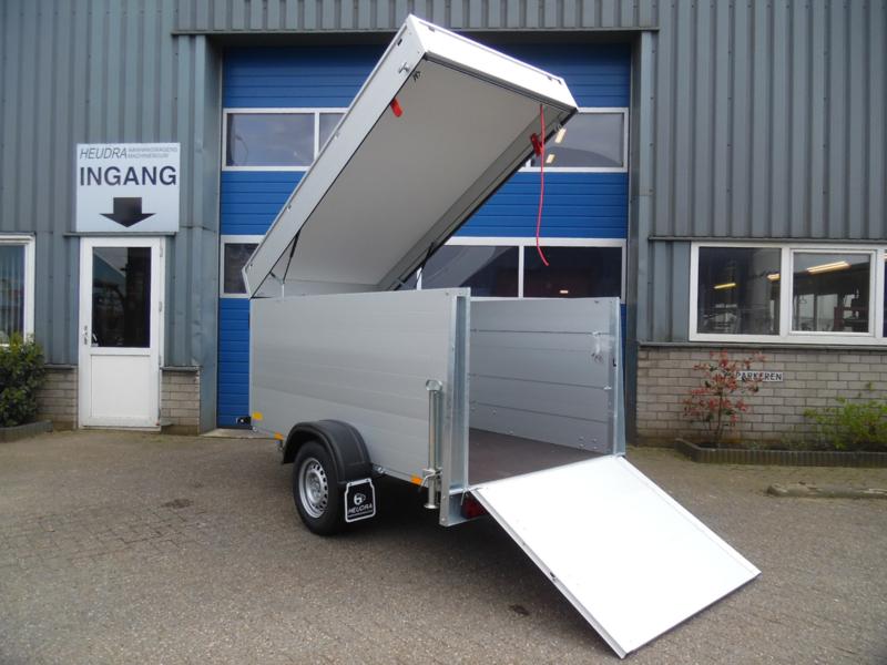 Anssems GTB 1200 VT2  bagagewagen | Geremd | 1200kg