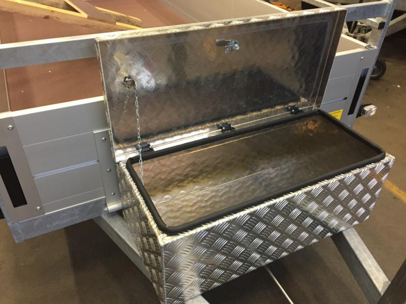 Aluminium Opberg Kist.Aluminium Opbergkist Aluminium Gereedschapskoffer Heudrashop