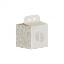 Doopsuiker kubus wit bewerkt