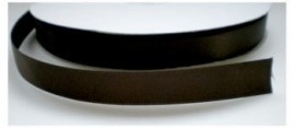 Satijnlint donker bruin 16mm per meter