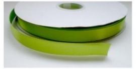 Satijnlint appel groen 16mm per meter