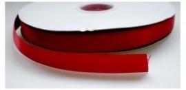 Satijnlint rood 16mm per meter