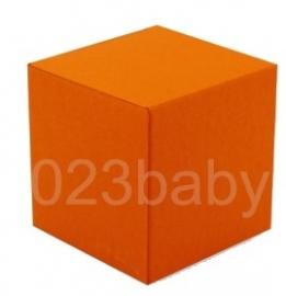 Doopsuiker kubus doosje oranje