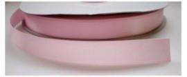 Satijnlint licht roze 16mm per meter