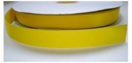 Satijnlint geel 16mm per meter