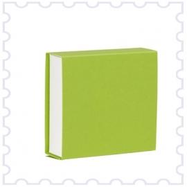 Doopsuiker schuifdoosje limoen groen