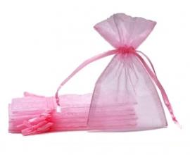 Organzazakjes roze