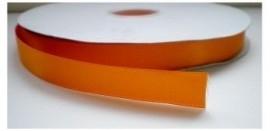 Satijnlint oranje 16mm per meter