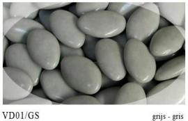 Chocolade dragee licht grijs 0,5 kg