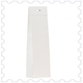 hoog doosje glinsterend wit