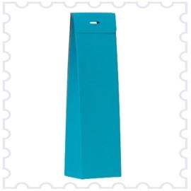 Hoog doosje turquoise