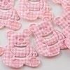 Beertje roze / 5 stuks