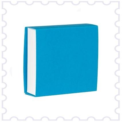 Doopsuiker schuifdoosje azuur blauw