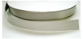 Satijnlint grijs 16mm per meter