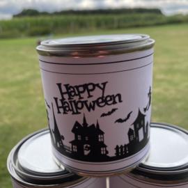 Waxinelichtjes boodschap Halloween