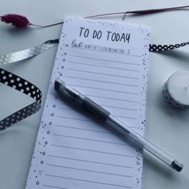 To do today kladblok