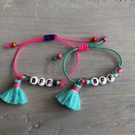 BFF armbandjes, set van 2