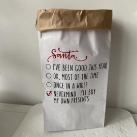 Paper bag  'Santa'