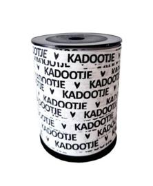 Cadeaulint Kadootje - wit/zwart