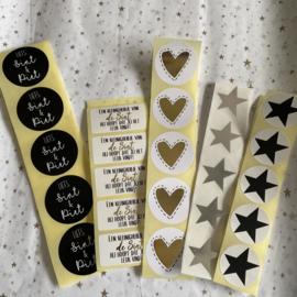 Stickers, 10 stuks