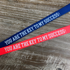 Keycord 'Key to success'