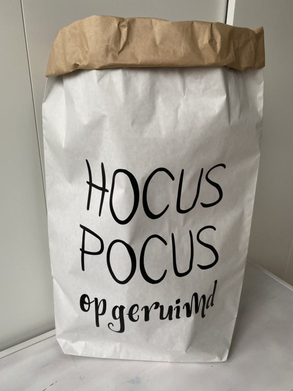 Paper bag  Hocus Pocus (XXL)