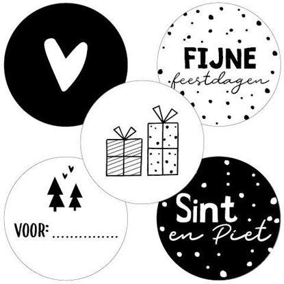Sticker Assorti Sint/kerst