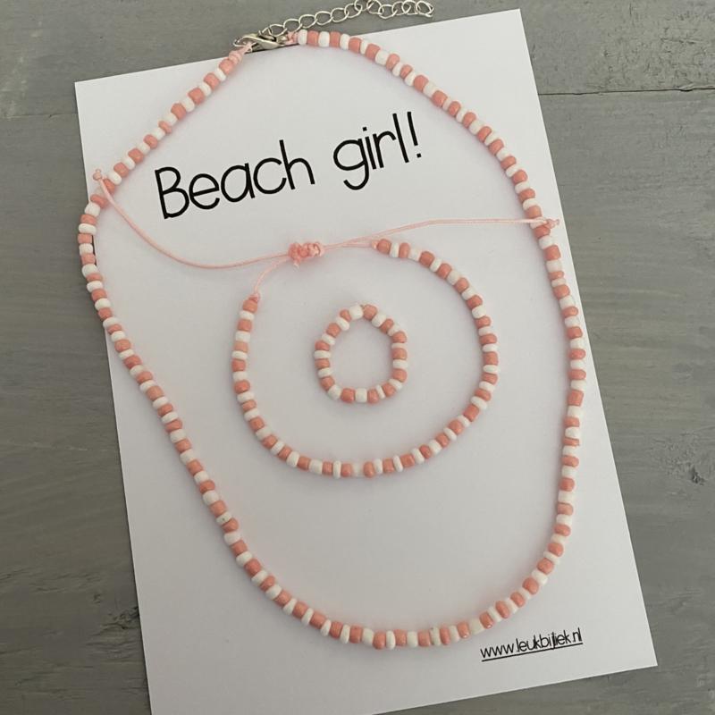 Set Beach girl Pinky
