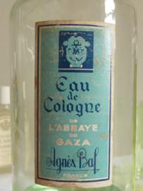 """Grote fles Eau de Cologne L'Abbaye de Gaza"""""""