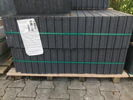 Quadroband palissade 6x25x50 zwart per stuk