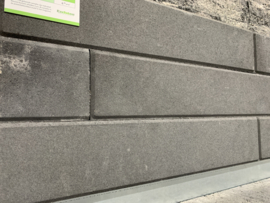 Linia Palissade 12x12x60 Antraciet facet