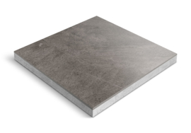 CeraDeco keramiek op beton Slate Antracite 60x60