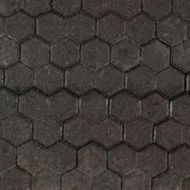 T-3 steen 8 cm zwart
