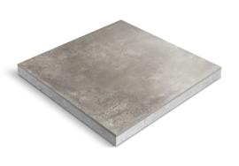 CeraDeco keramiek op beton Matiere Titanio 60x60