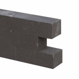 Wallblocks new 12x10x30 cm Antraciet
