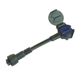 Flex connector male