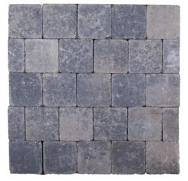 Kobblestones 14x14x7 cm Grijs Zwart