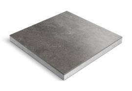 CeraDeco keramiek op beton Mistique Black 60x60