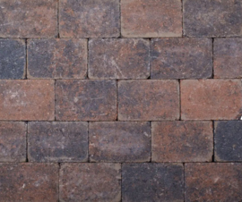 Kobblestones 21x14x7 cm Bruin Zwart