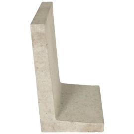 L-element 60x40x34 grijs per 6 stuks
