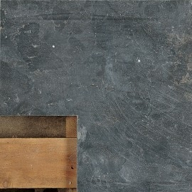 Siam bluestone hoekstuk 50/50x20x3 verzoet